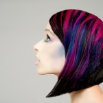 Rainbow Inverted Bob