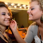 Makeup Application at the Capri Student Salon