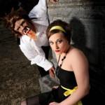 Halloween Makeup Graveyard Photo Shoot