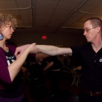 Arm Massage Techniques Shown by Instructor